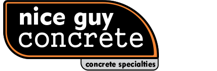 nice guy concrete logo